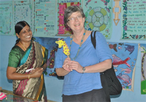 A Visit from US Consulate RELO Officer to SARVAM