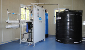 Water Purifying Unit Inaugural Function, February 2014