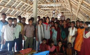 Visit by Fulbright Scholars to SARVAM, October 2013