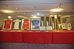 Sports memorabilia for the charity auction
