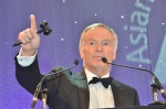 Lord Jeffrey Archer as auctioneer for SARVAM