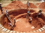 Excavation for rain water harvesting sump